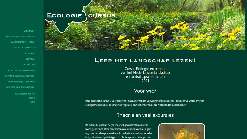 Ecologiecursus